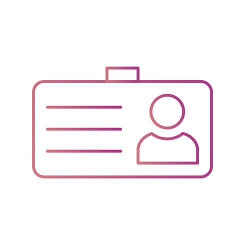 Icona di vettore di carta studente