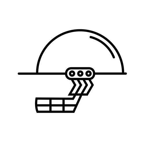 Lijn zwart pictogram