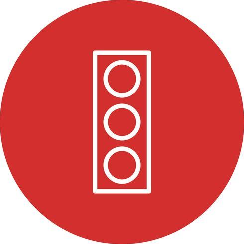 Icône de signal de vecteur