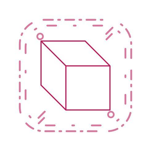 Cube Vector Icon