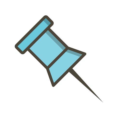 Notice Pin Vector Icon