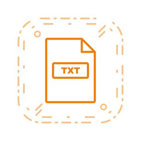 TXT Vector Icon