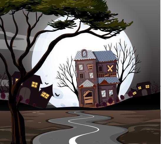 Maison hantée au bout de la route