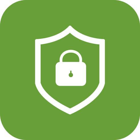 Icono de Vector de protección en línea