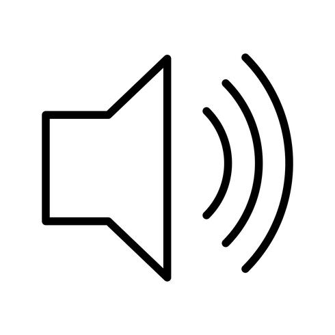 high Volume Vector Icon