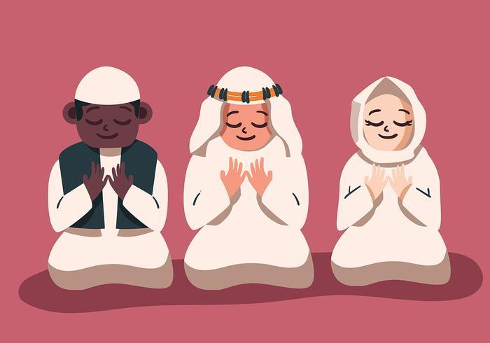 Enfants musulmans