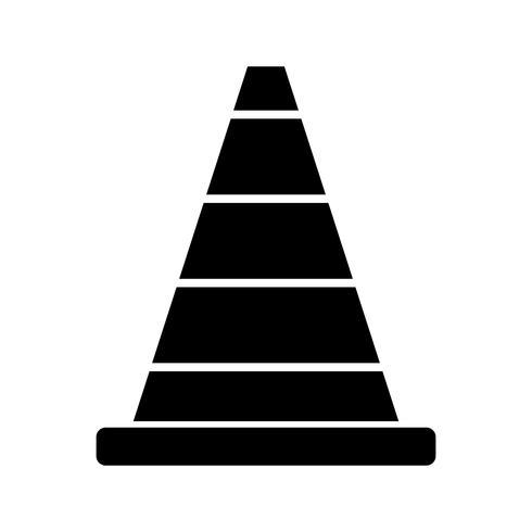 icona glifo nero