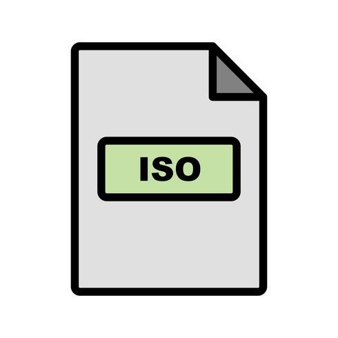 ISO-Vektor-Symbol