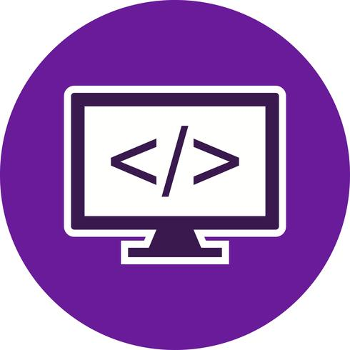 Programming Vector Icon