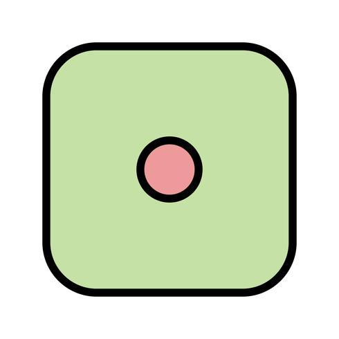 Um ícone de vetor de dados