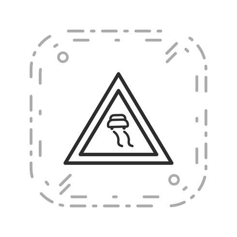 Vector gladde wegen pictogram