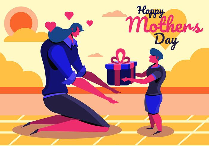 Happy Mother's Day vector