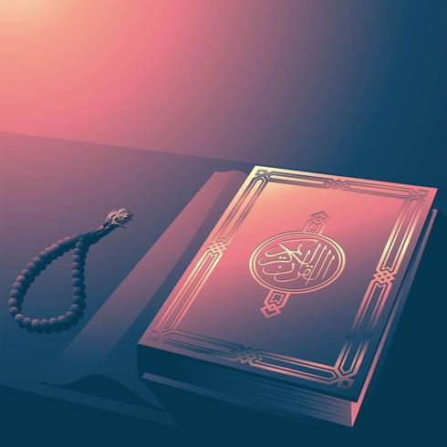Illustration de la couverture du Coran