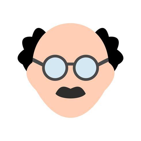 Male Scientist Vector Icon