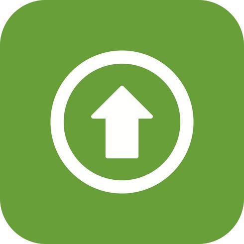 Vector Go straight ahead Icon