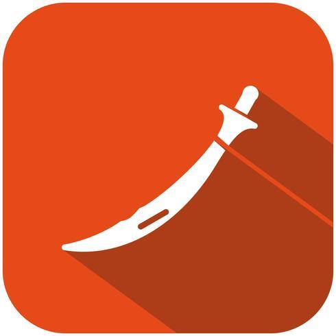 Icona di vettore di spada