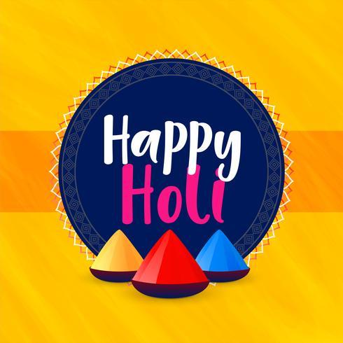 lycklig holi festival hälsning bakgrund