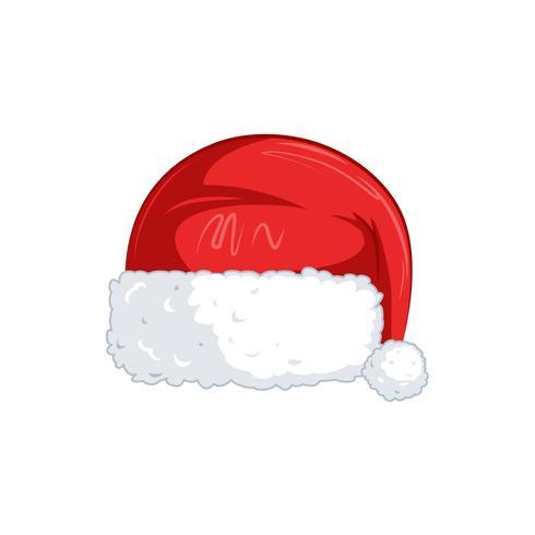 Nieuwjaarsmaskers voor foto's. Kerst clipart. Vector cartoon illustratie