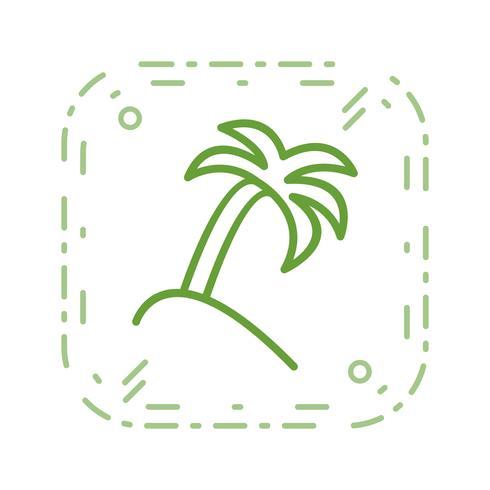 Palm Tree Vector Icon