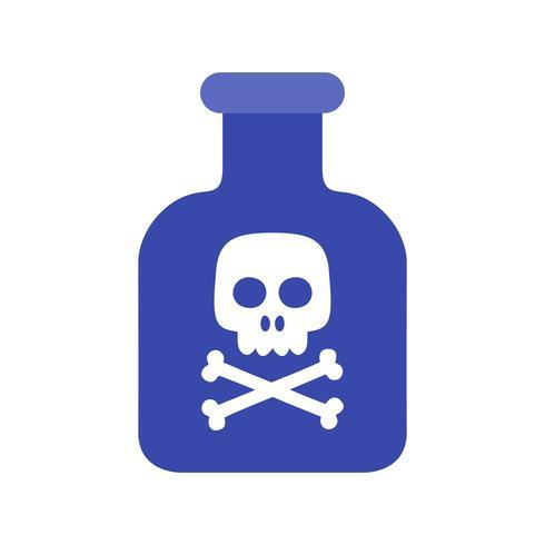 Chemikalien-Vektor-Symbol