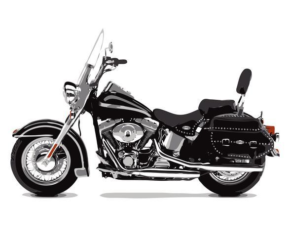 Motorcycle Bike vector design illustration template