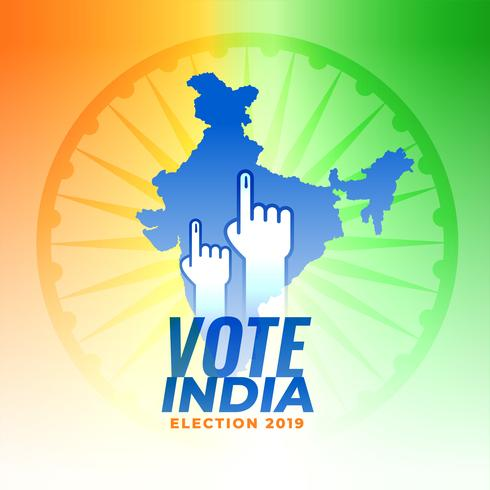 vote for india election background