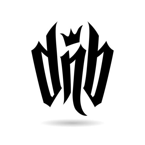 DnB Vector Lettering for Drum and Bass Fans