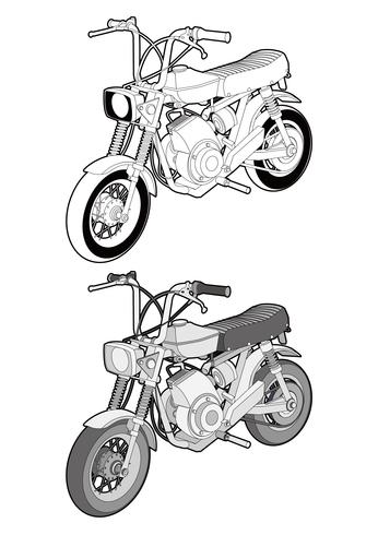 Motorcycle Bike vector design illustration template - Download Free