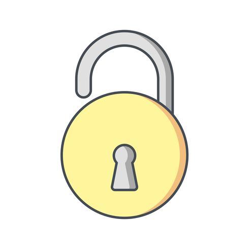 Unlock Vector Icon