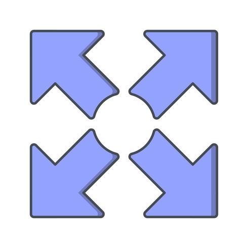Fullscreen vektorikon