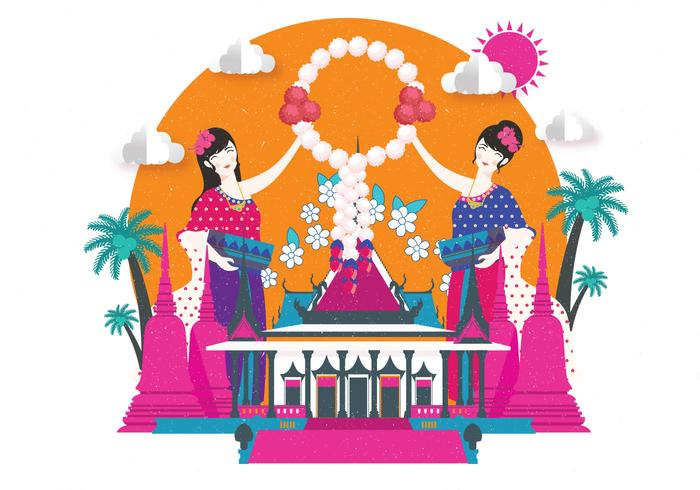 songkran festival vol 2 vettoriale