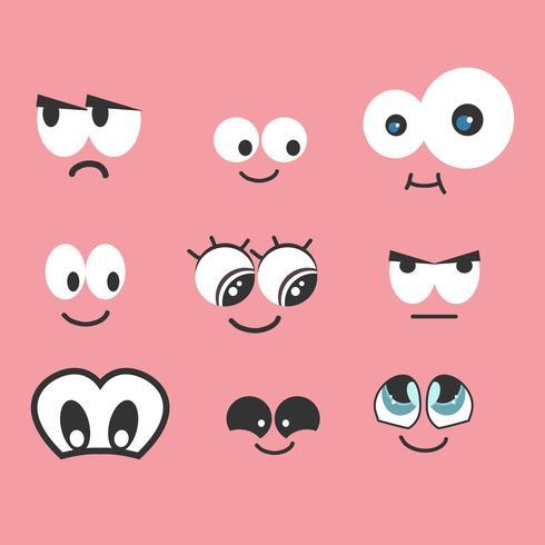Cartoon-Augen-Vektor-Sammlung