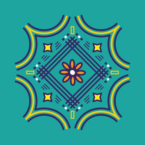 Kolam Vector