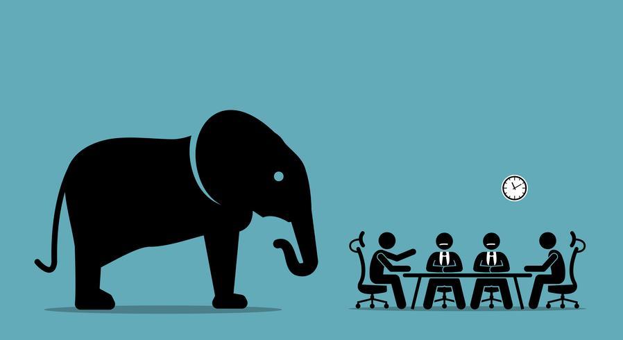Elefant im Raum.