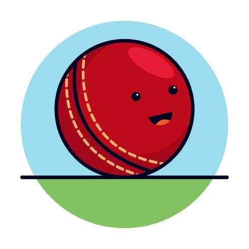 Süßer Cricketball