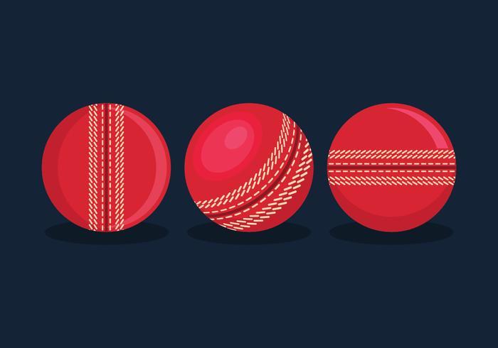 Vettore della palla da cricket