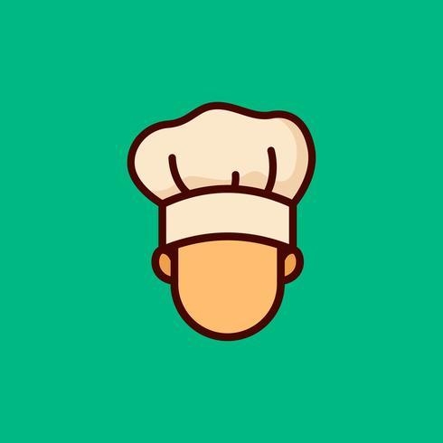 Chef-Vektor-Illustration