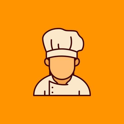 Chef Avatar ilustração vetor