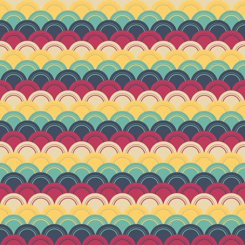Retro patroon Vector
