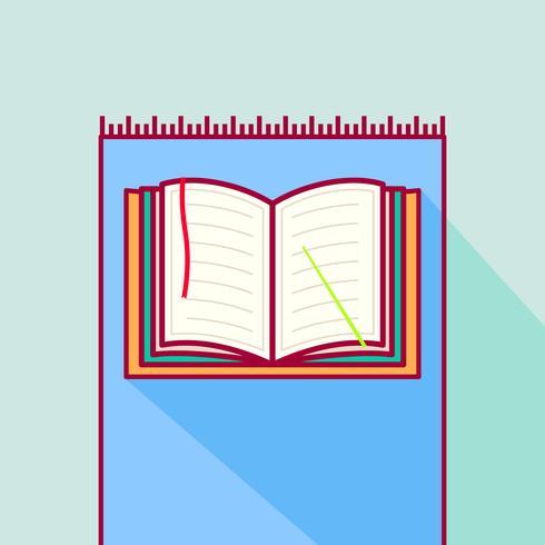 Al Qur'an sobre o tapete de oração vetor