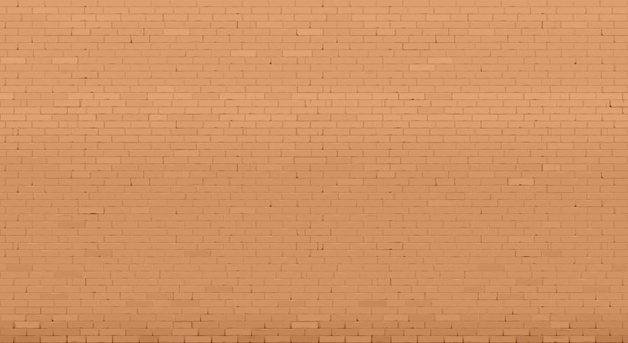 Bakgrund med en gammal röd tegelvägg. Inredning i loft stil. Vektorgrafik