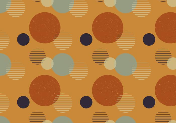 Abstract Dots Retro-patroon