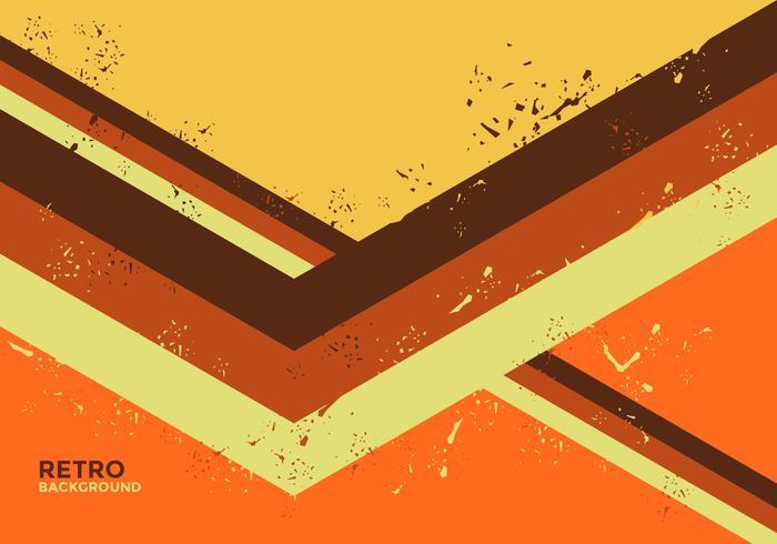 Vector retro abstracto sucio del fondo