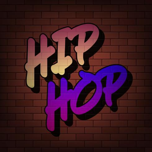 Graffiti Hiphop Wall Urban Background