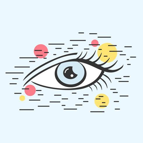 Vetor de olho