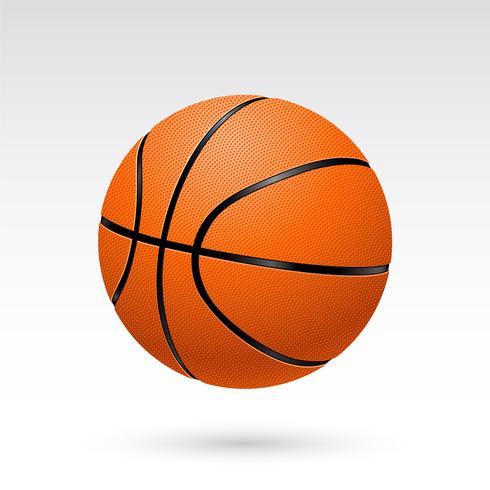 Realistischer Basketball-Vektor