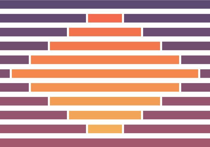 Fond de couleur de coucher de soleil géométrique