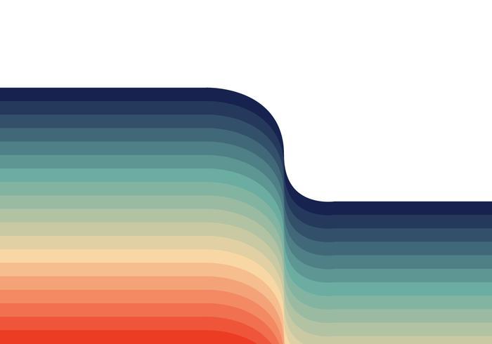 Retro sfondo colorato