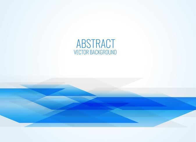 sfondo astratto blu stile geometrico
