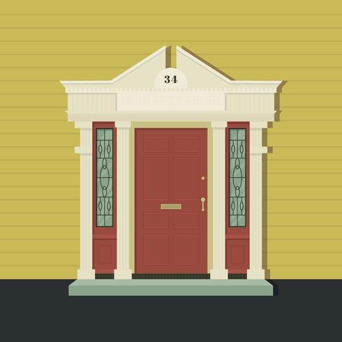 Vector de puerta
